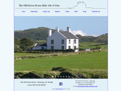 Link to The Old Excise House website